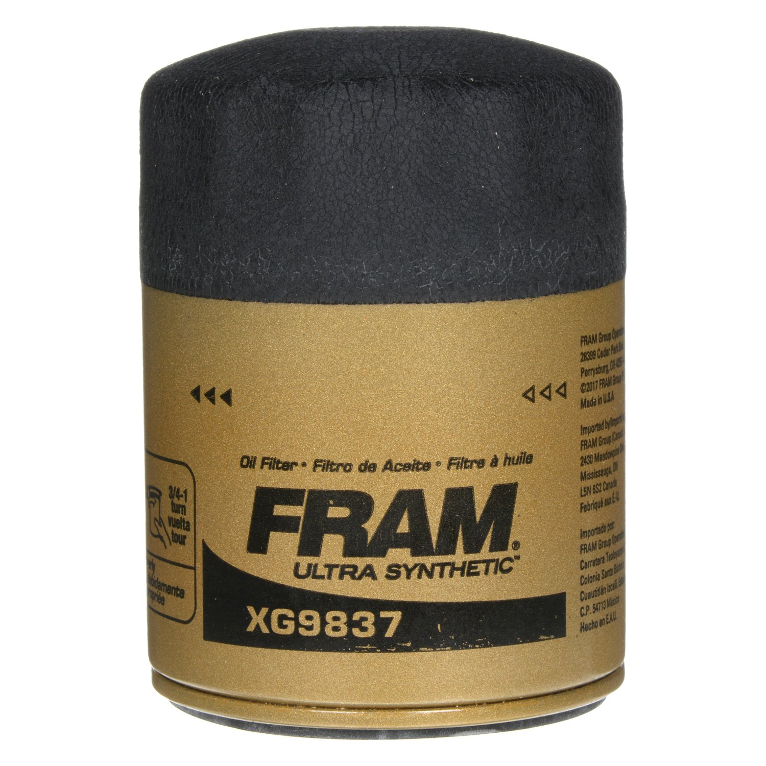 Fram Xg9837 Ultra Synthetic Oil Filter 2009 Pontiac G6 Fuel