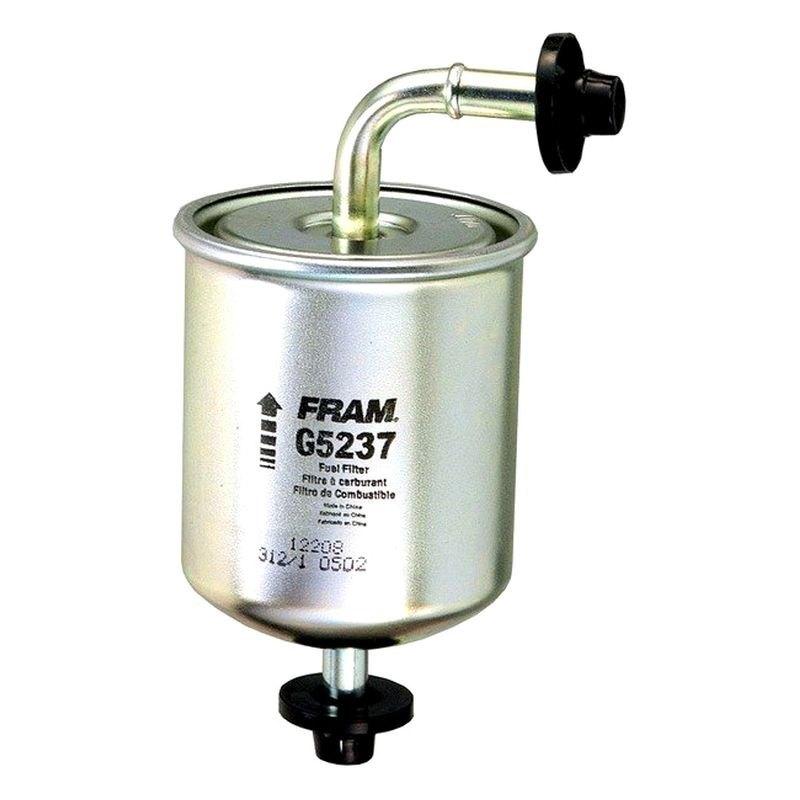 FRAM® G5237 - In-Line Gasoline Fuel Filter on gasoline fuel tanks, gasoline fuel gauge, gasoline fuel injectors, gasoline pumps, gasoline fuel engine, gasoline fuel hose,