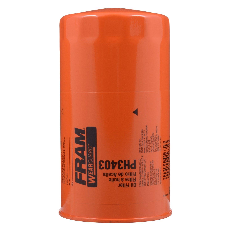 Fram Ph3403 Extra Guard Engine Oil Filter