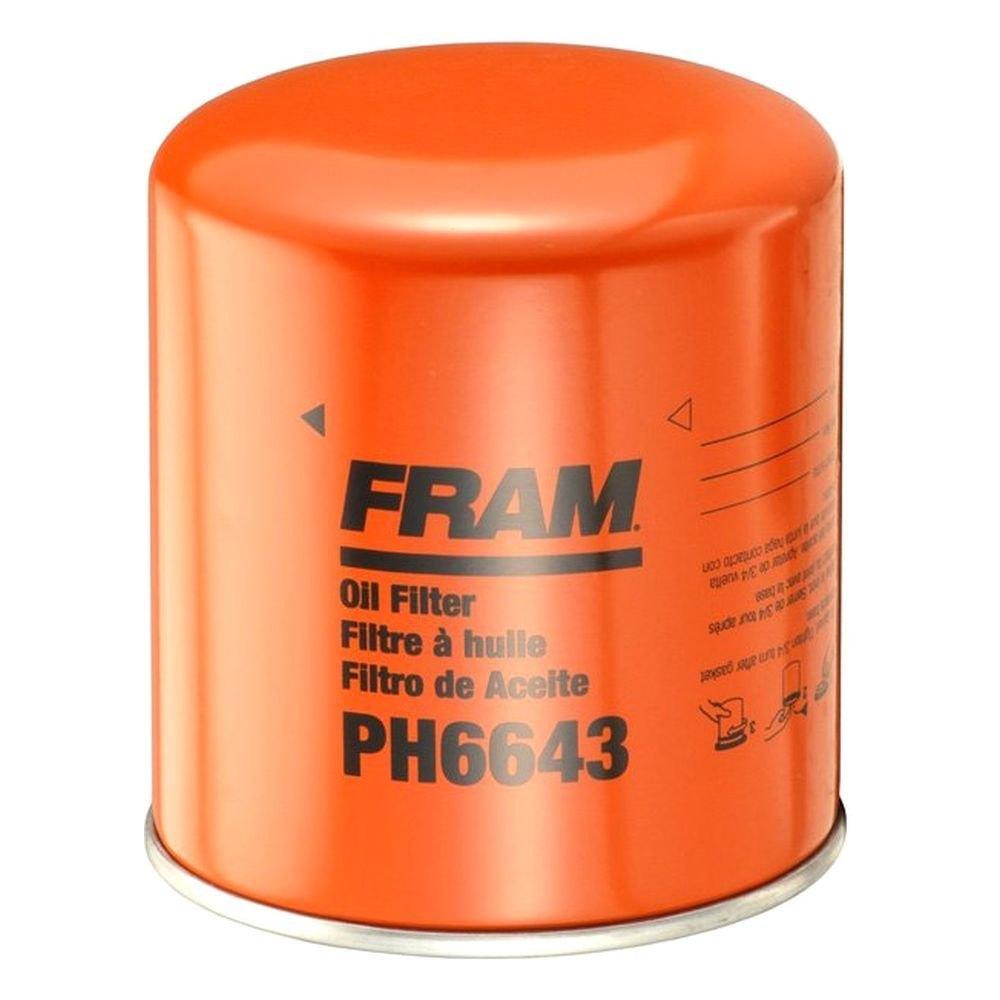 Fram Ph6643 Extra Guard Engine Oil Filter