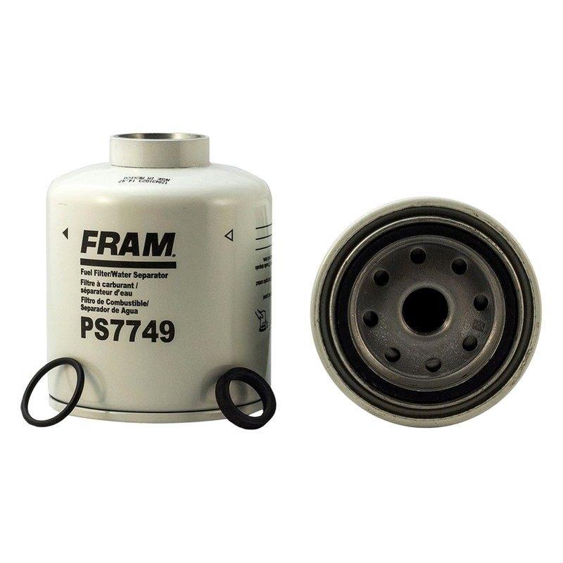 for dodge ram 3500 1994-1996 fram spin-on fuel diesel filter/water separator | ebay dodge ram fuel filter replacement 1999 dodge ram fuel filter location #11