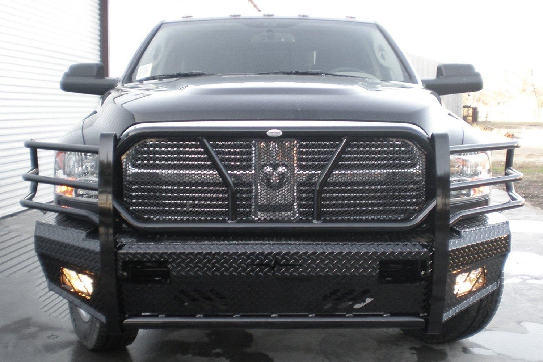 Frontier Truck Gear® - Full Width Front HD Black Bumper