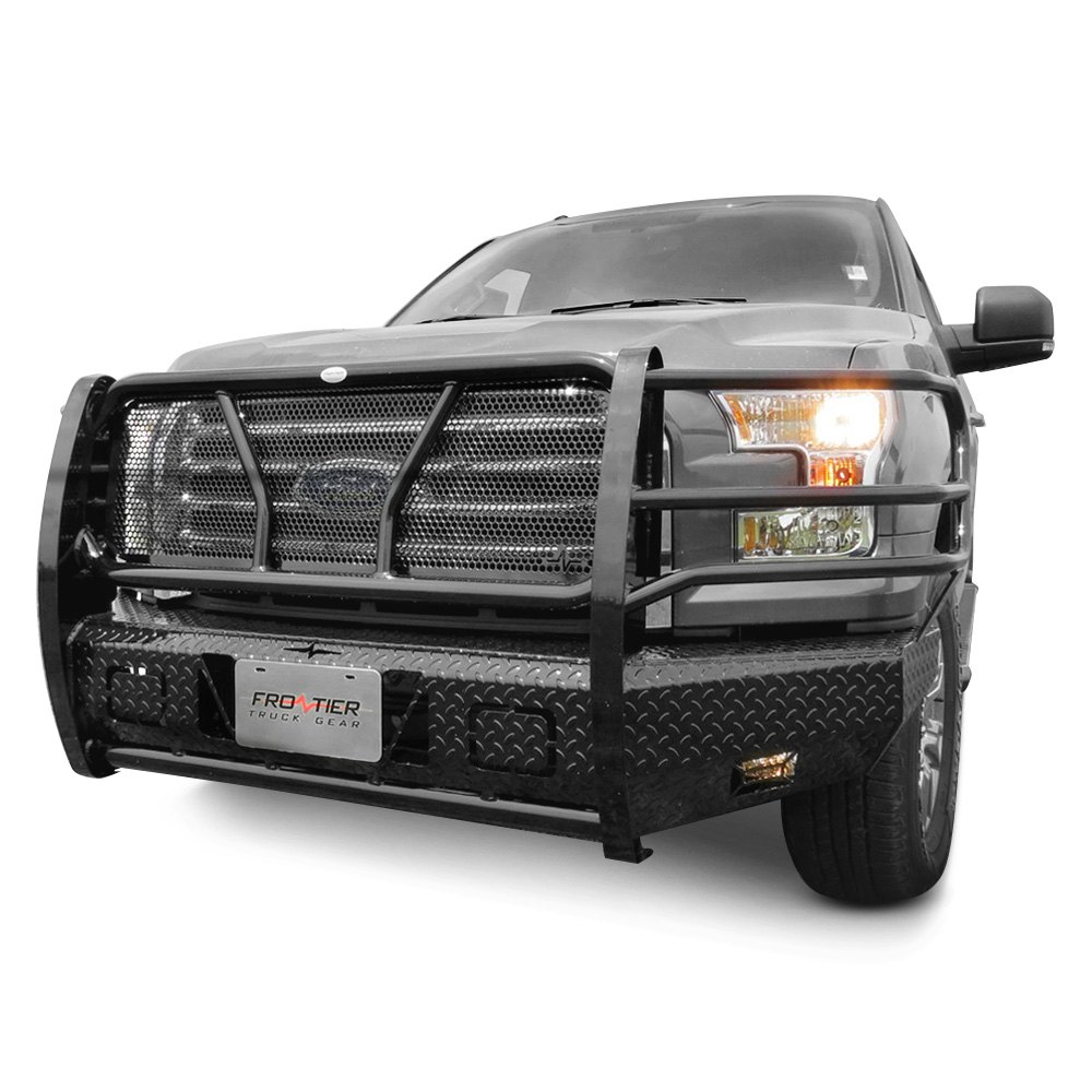 Truck Grill Guards And Bumpers : Frontier truck gear ford f full width