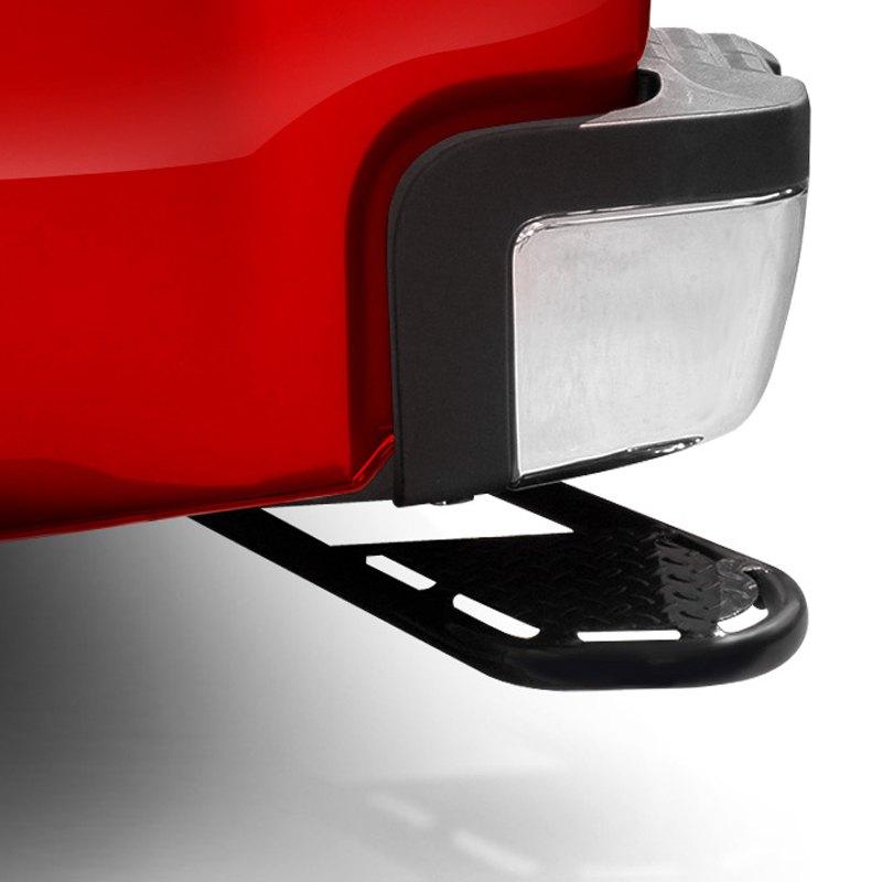 frontier truck gear chevy silverado 2500 hd 3500 hd 2011 bumper corner assist step. Black Bedroom Furniture Sets. Home Design Ideas
