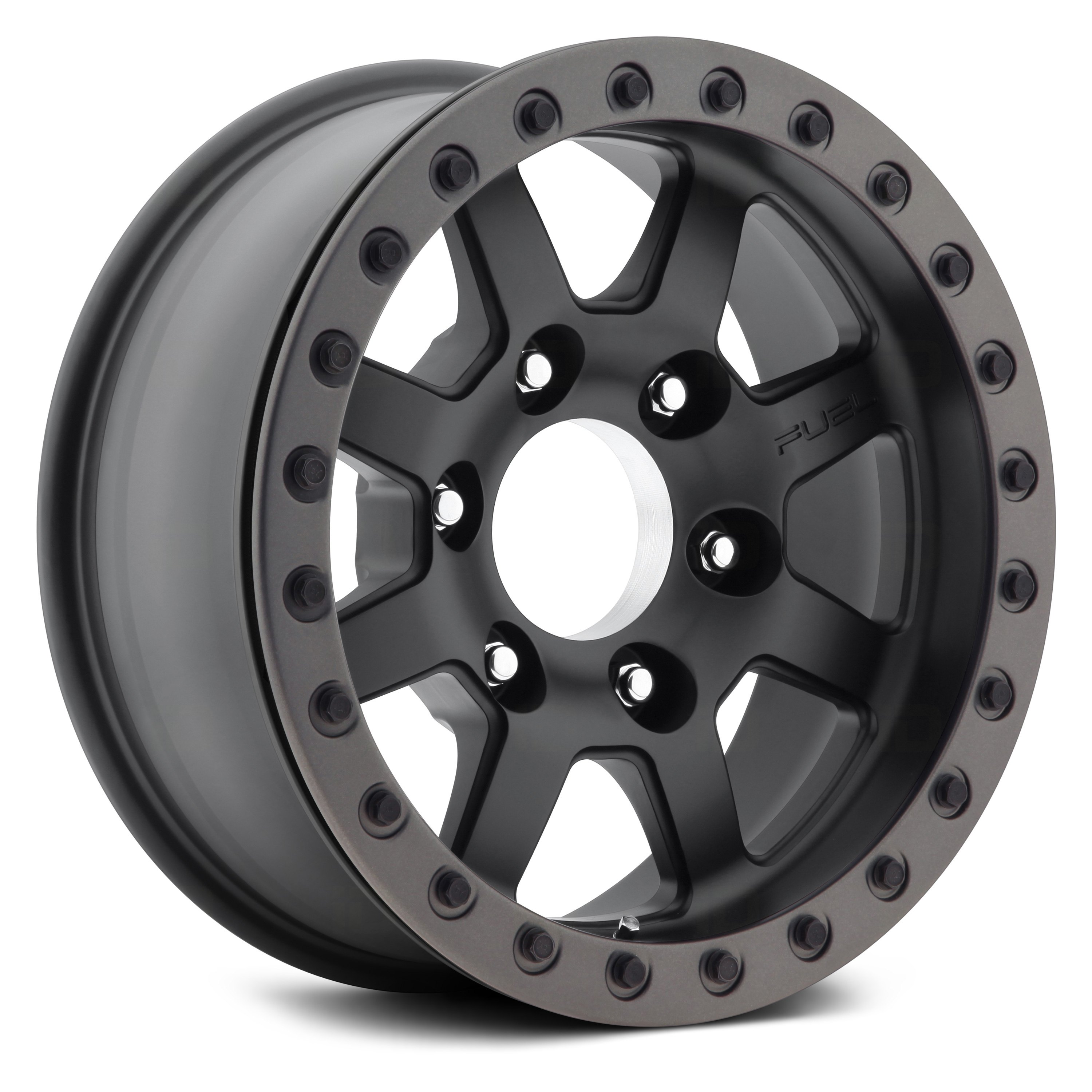 Fuel Trophy Wheels >> Fuel D105 Forged Trophy 1pc Matte Black With Graphite Bead Ring