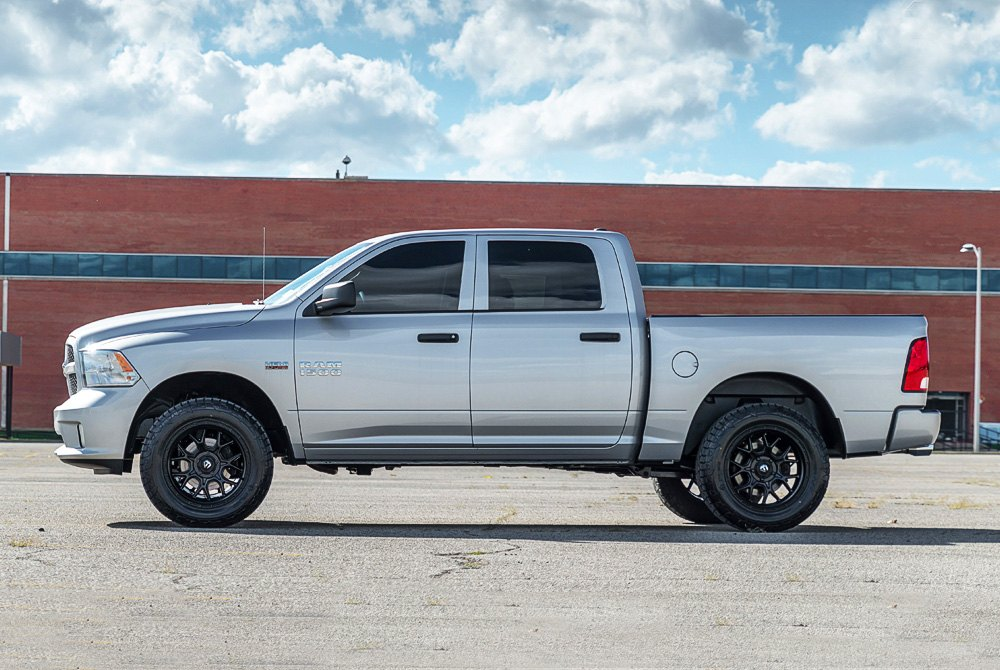 Dodge Ram 1500 Wheels And Tires Packages >> Fuel D670 Tech 1pc Matte Black 20 X 9 20 Offset 5x150 Bolt Pattern 110 2mm Hub