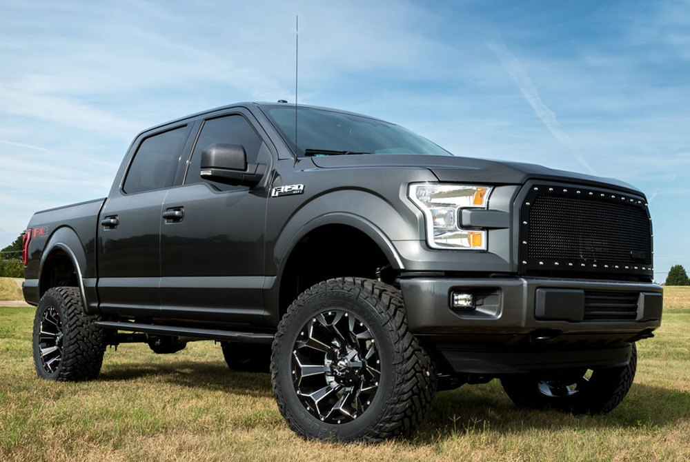 Fuel 174 Assault Wheels Gloss Black With Milled Accents Rims
