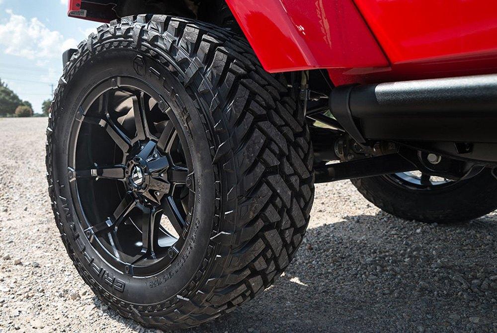 Fuel 174 D575 Coupler 1pc Wheels Gloss Black Rims