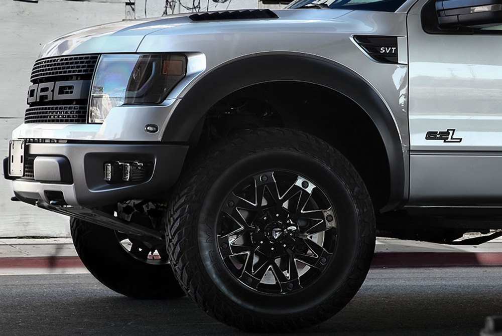 Fuel Truck Wheels >> Fuel D555 Ambush 1pc Gloss Black With Milled Accents