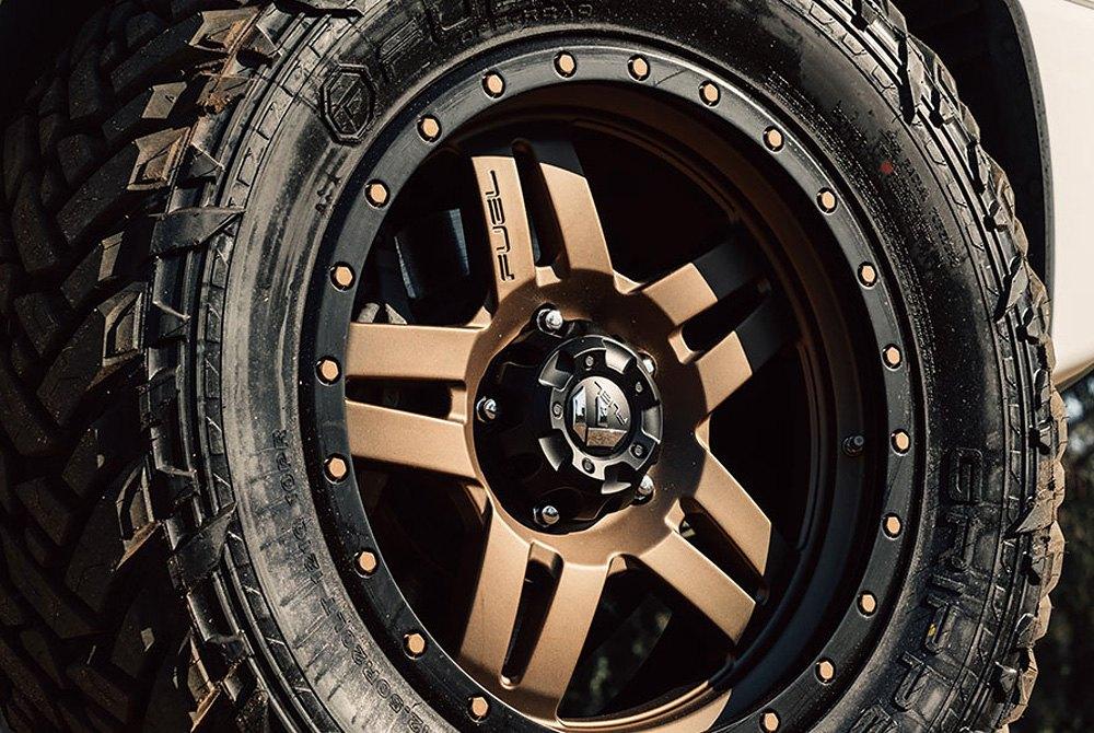 Rims Toyota Tundra >> FUEL® D583 ANZA 1PC Wheels - Bronze Rims