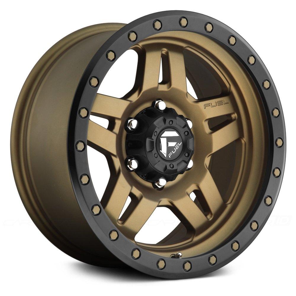 FUEL® D583 ANZA 1PC Wheels - Bronze Rims