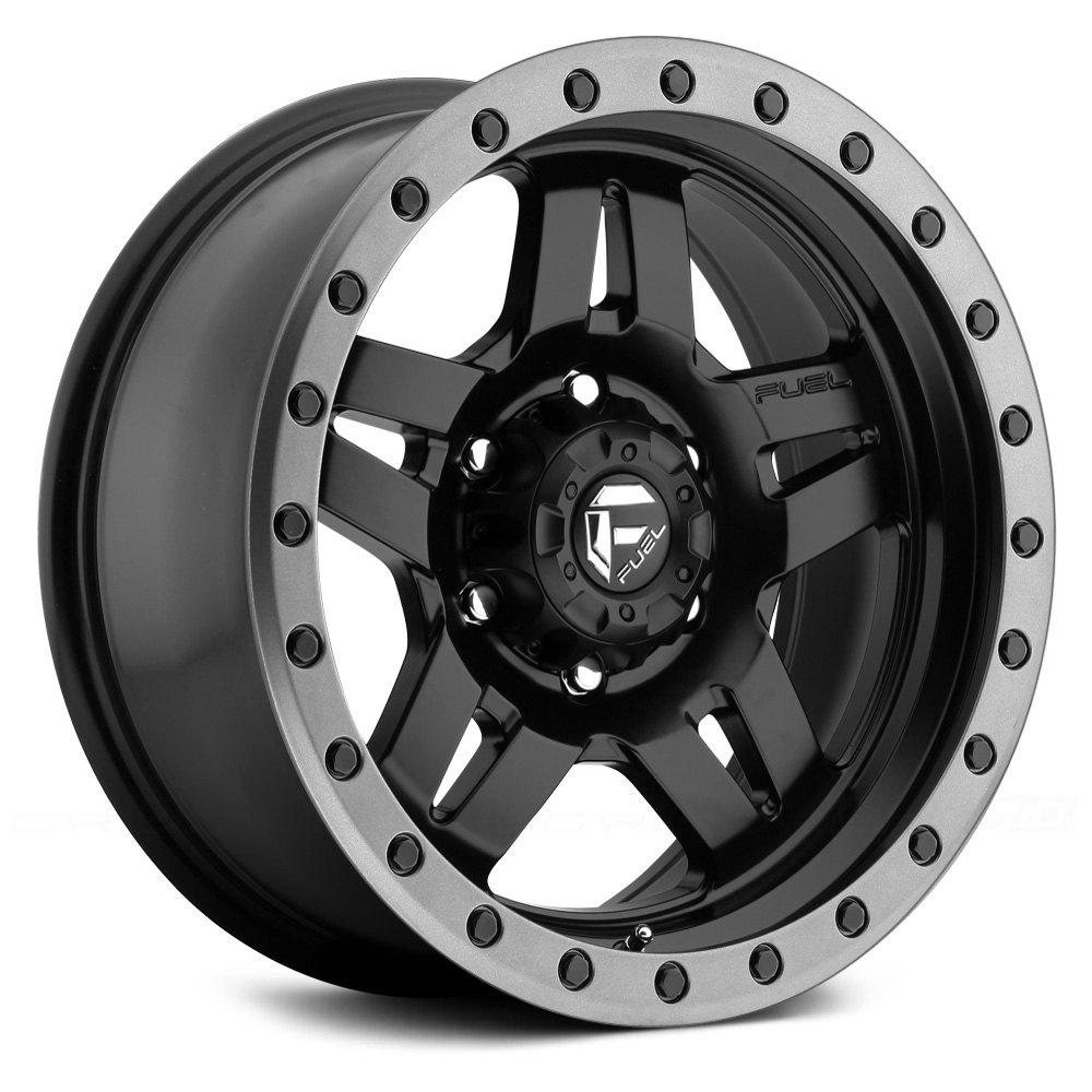 Fuel 174 D557 Anza 1pc Wheels Matte Black With Graphite