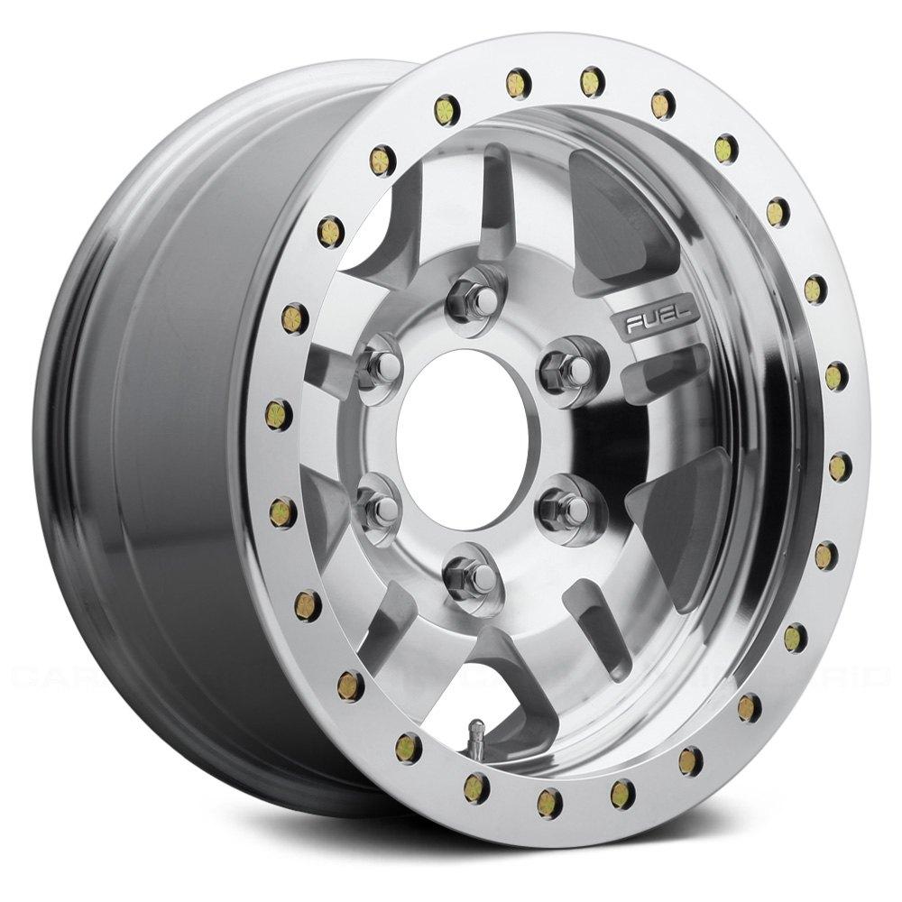 Fuel 174 Anza Beadlock Wheels Raw Machined Rims