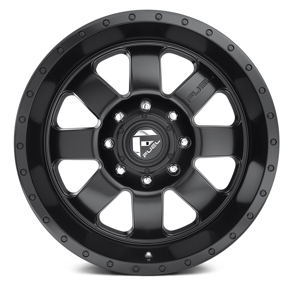 Fuel 174 D626 Baja 1pc Wheels Matte Black Rims