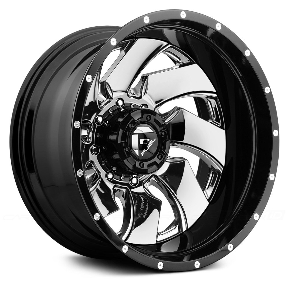 Fuel Dually Wheels >> FUEL® D240 DUALLY CLEAVER 2PC Wheels - Gloss Black with ...