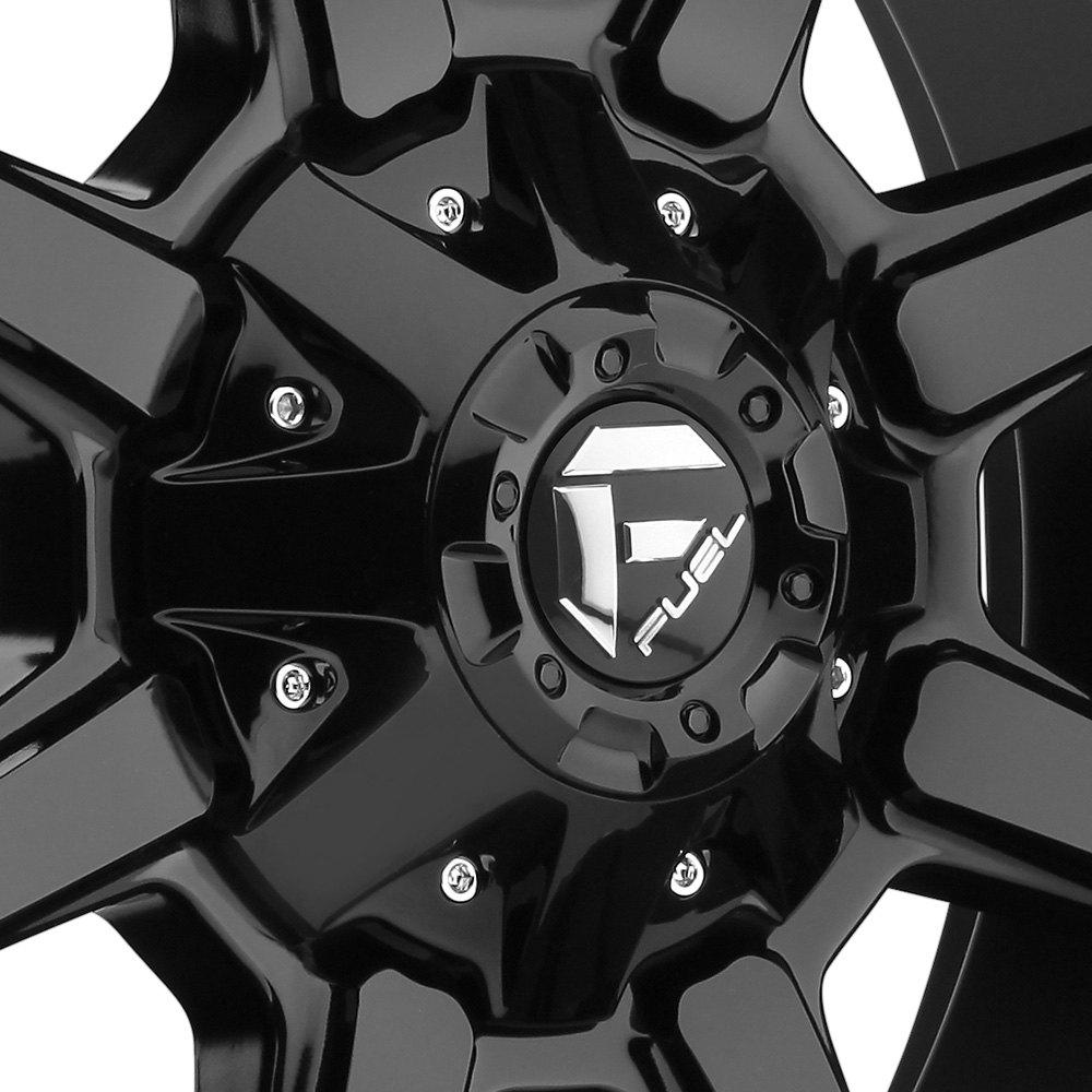 Jeep Wrangler 2016 Sport Bolt Pattern >> 20x10 FUEL Wheels -12 | 5x127 | 78.1 COUPLER Rims Gloss Black (Set of 4)