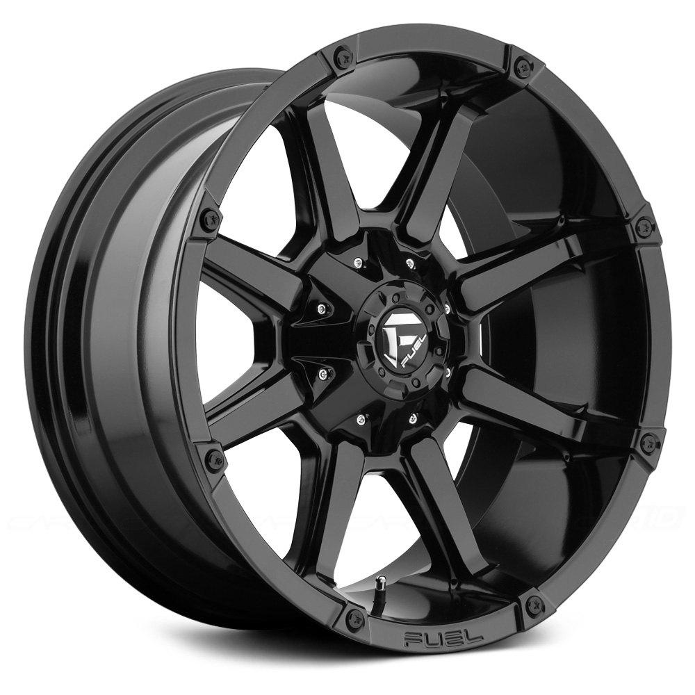 FUEL® D575 COUPLER 1PC Wheels - Gloss Black Rims