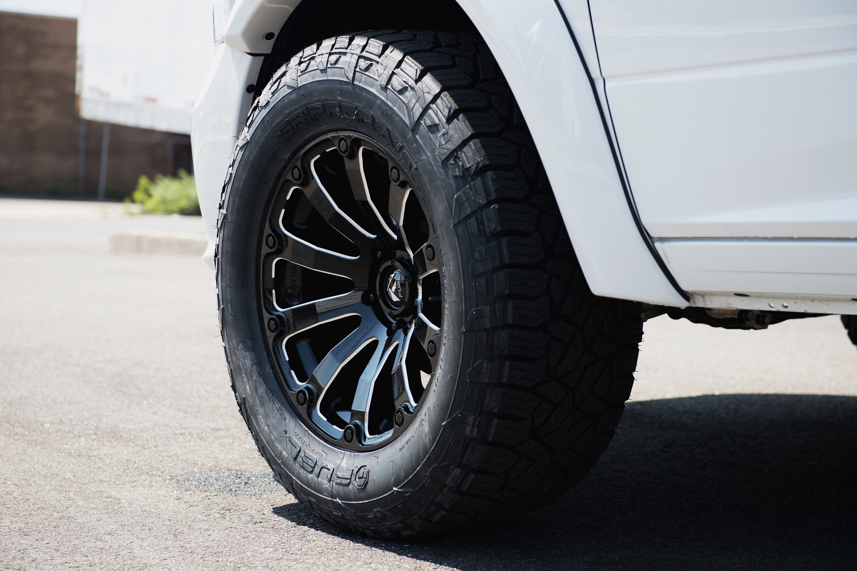 Dodge Ram 1500 Diesel >> FUEL® D598 DIESEL 1PC Wheels - Gloss Black with Milled Accents Rims