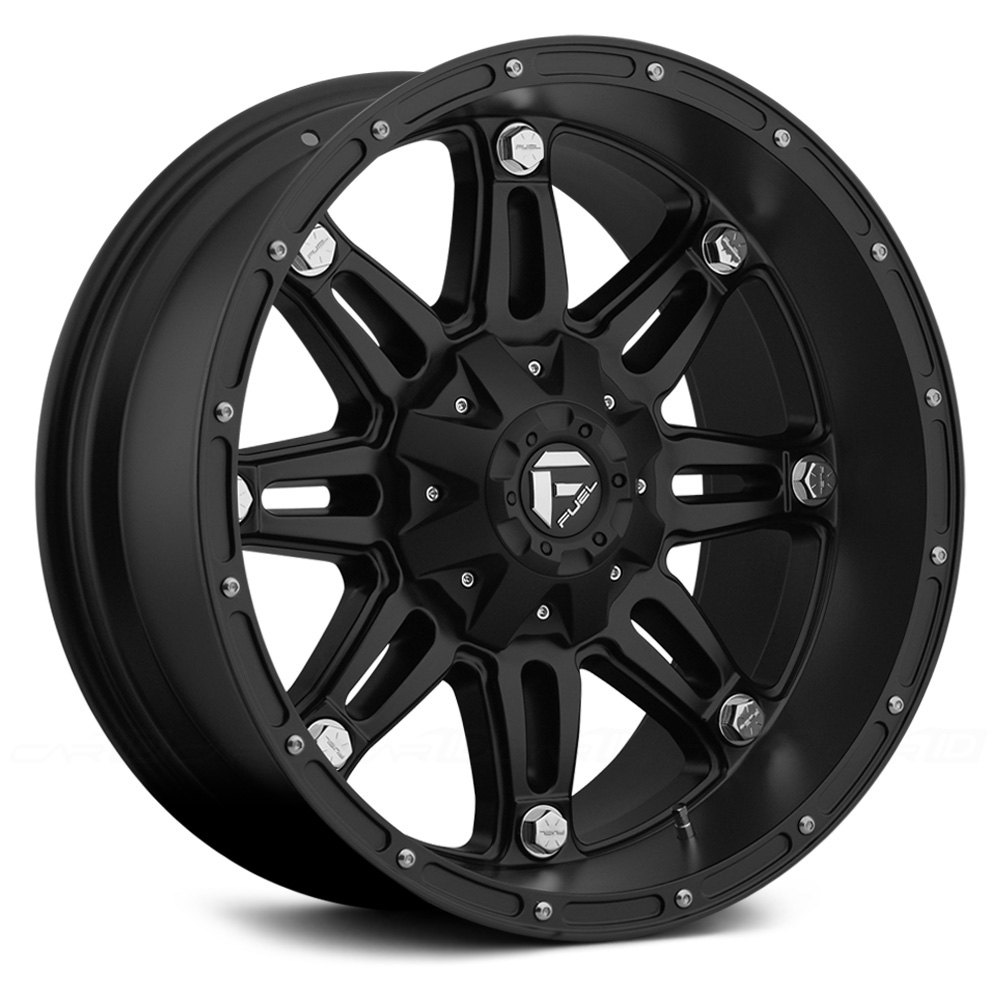 Fuel 174 D531 Hostage 1pc Wheels Matte Black Rims