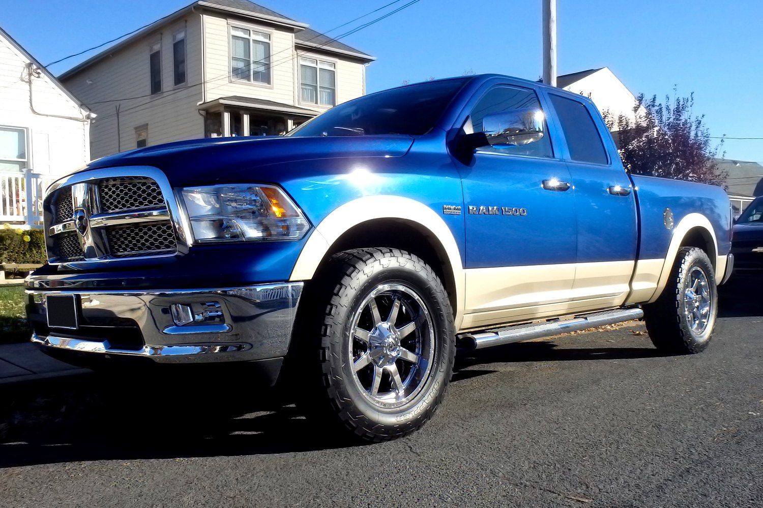 New Dodge Trucks >> FUEL® MAVERICK 1PC Wheels - Chrome Rims
