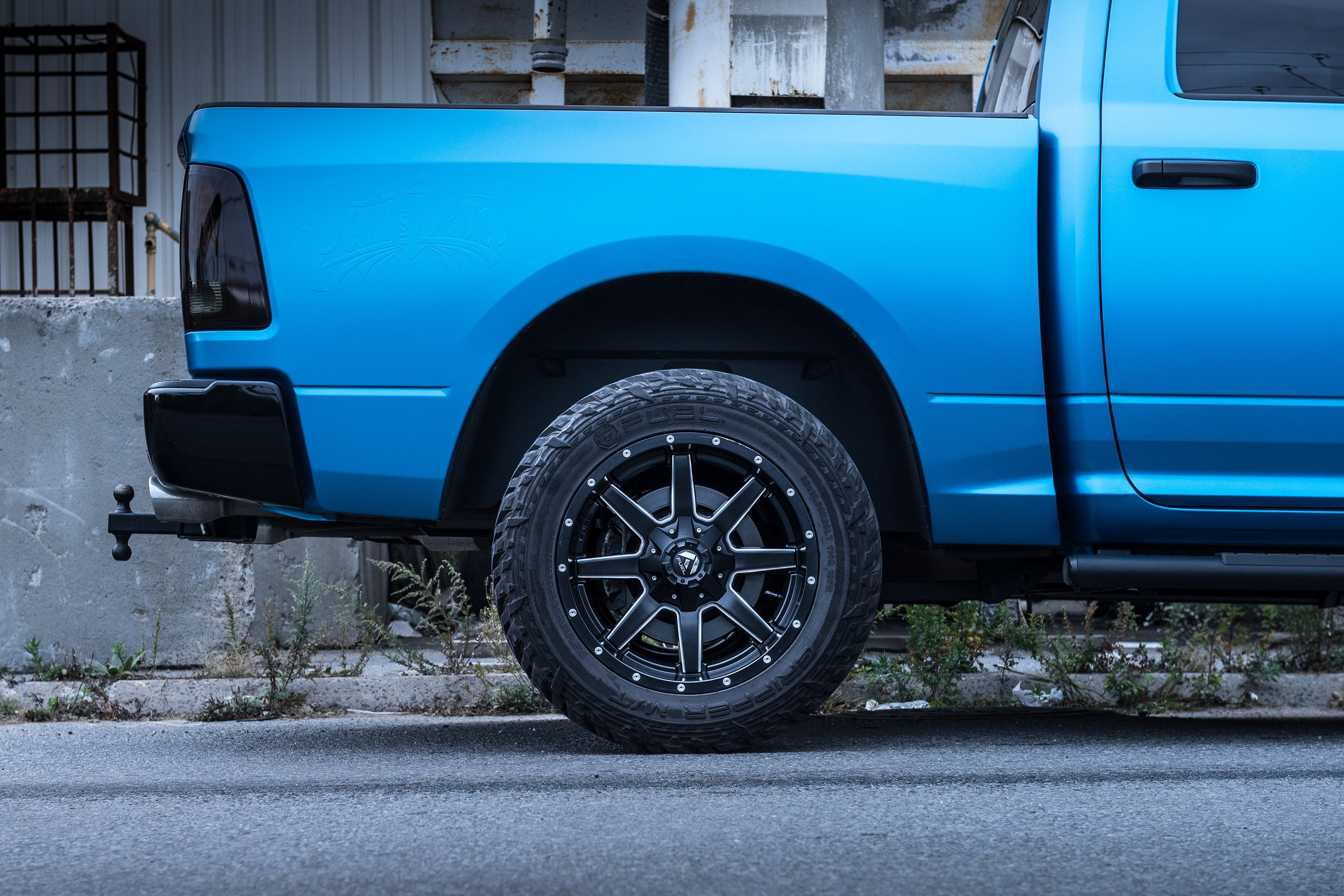 Dodge Ram 1500 Wheels And Tires Packages >> Fuel D610 Maverick 1pc Gloss Black With Milled Accents