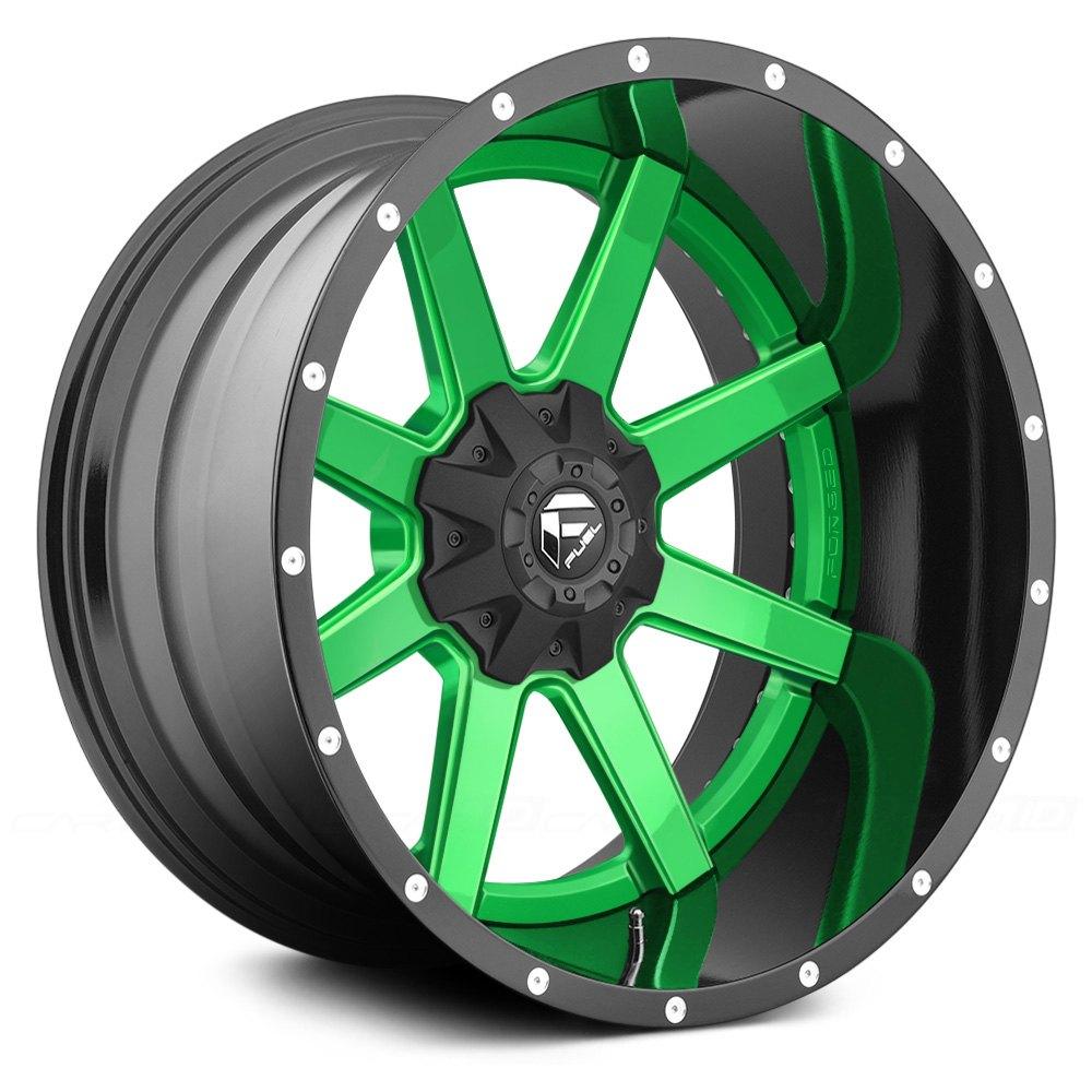 FUEL Wheels MAVERICK 2PC 24x14 75mm 8x170 1252 4 Rims Set
