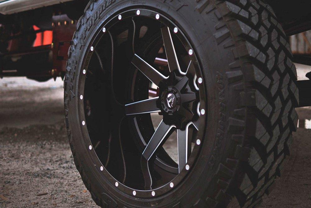 FUEL® D262 MAVERICK 2PC CAST CENTER Wheels - Black with ...