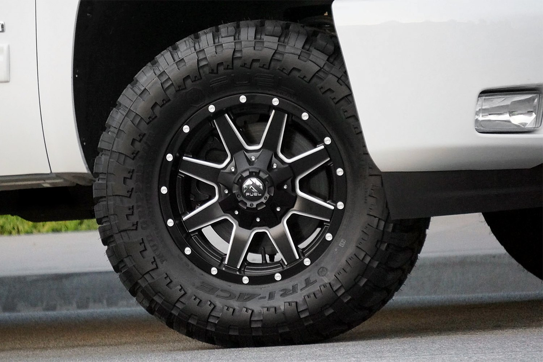 Fuel 174 D538 Maverick Deep Lip Wheels Matte Black With