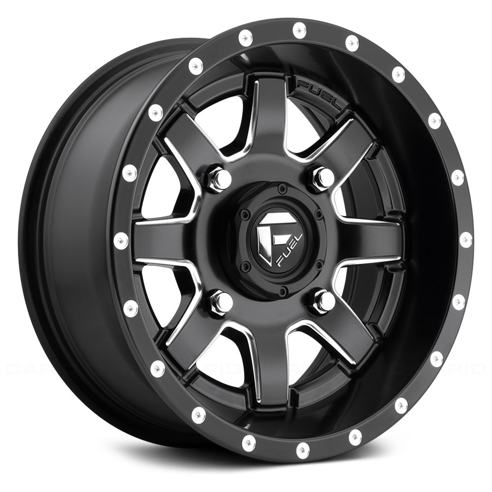 Fuel d538 maverick utv wheels matte black with milled accents rims fuel d538 maverick utv matte black with milled accents sciox Gallery