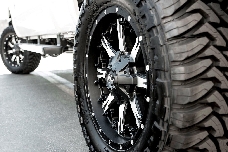 Fuel 174 D541 Nutz 1pc Wheels Matte Black With Machined