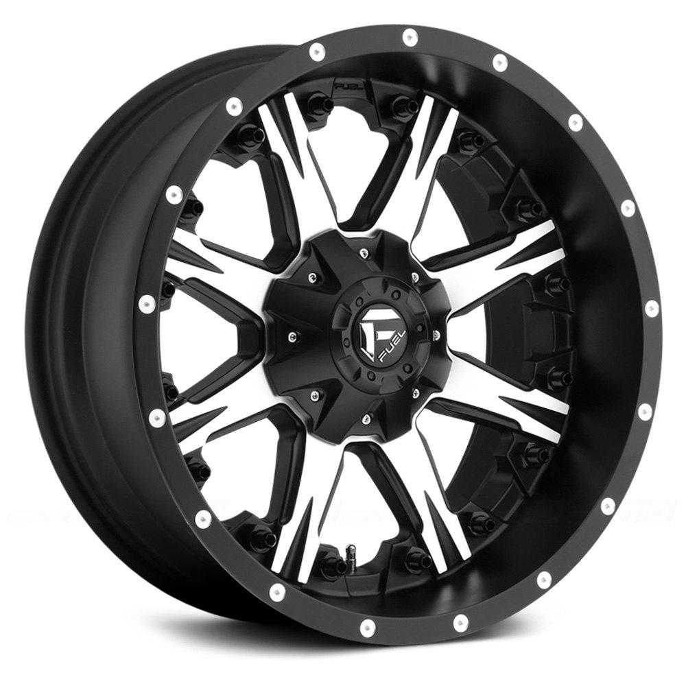 Fuel Rims F250 >> FUEL® D541 NUTZ 1PC Wheels - Matte Black with Machined Face Rims