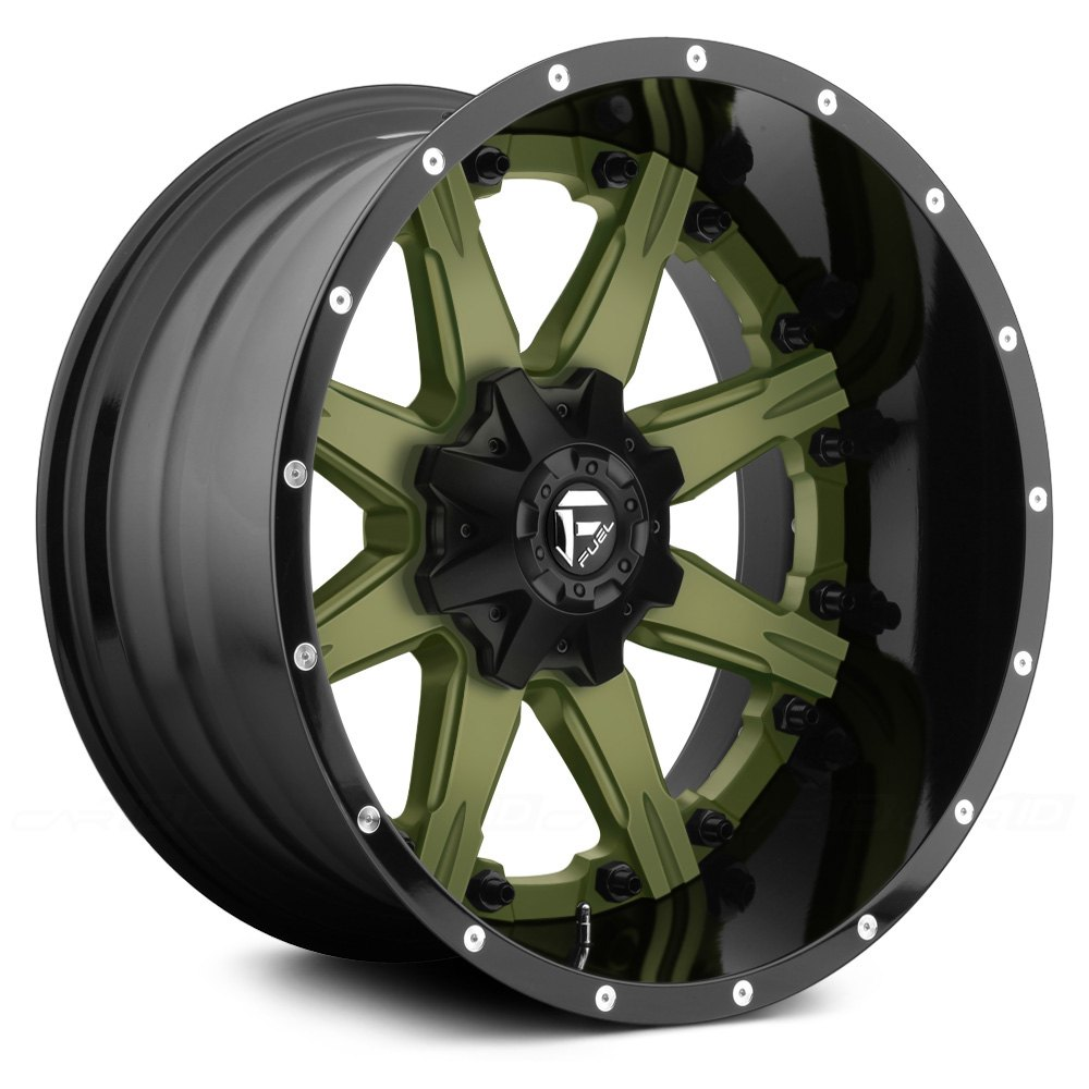 FUEL® NUTZ 2PC FORGED CENTER Wheels - Any Generic Color ...