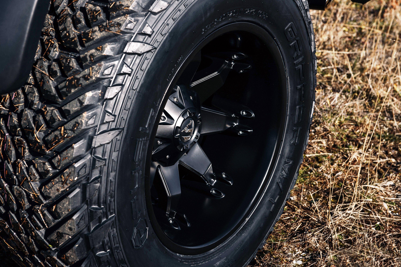 FUEL® D509 OCTANE 1PC Wheels - Matte Black Rims