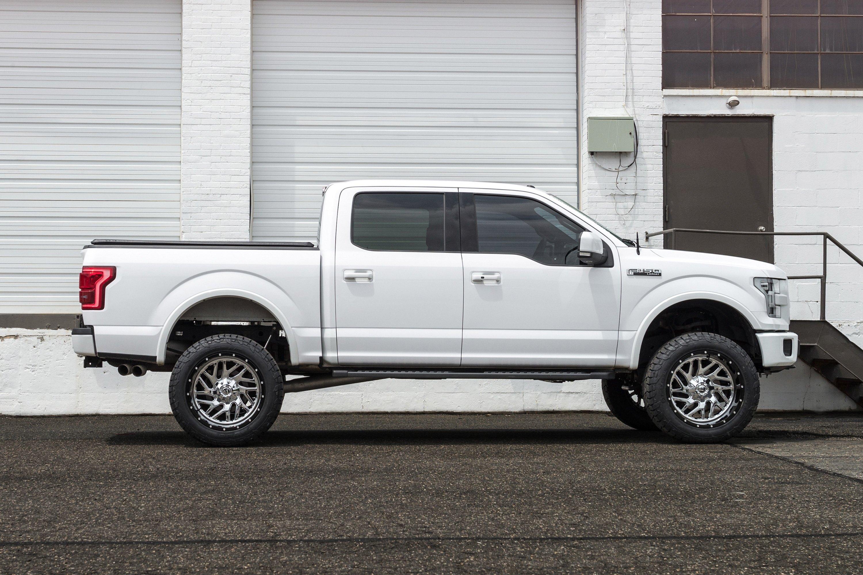 Custom Ford F150 Parts >> FUEL® D211 TRITON 2PC CAST CENTER Wheels - Black with Chrome Face Rims