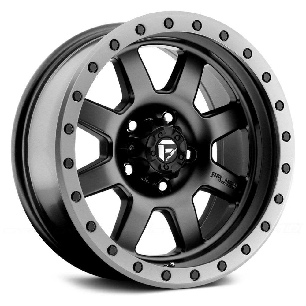 Fuel 174 D551 Trophy 1pc Wheels Matte Black With Graphite