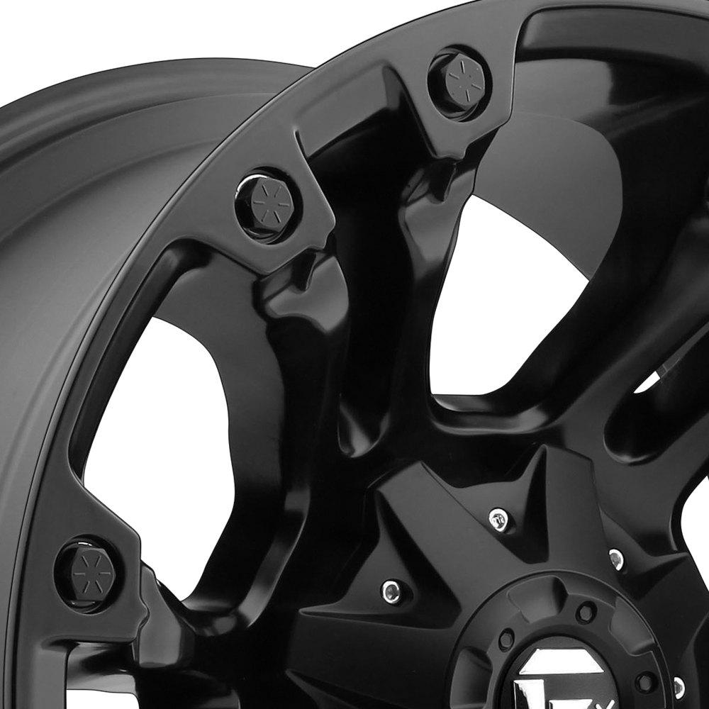 FUEL® D560 VAPOR 1PC Wheels - Matte Black Rims