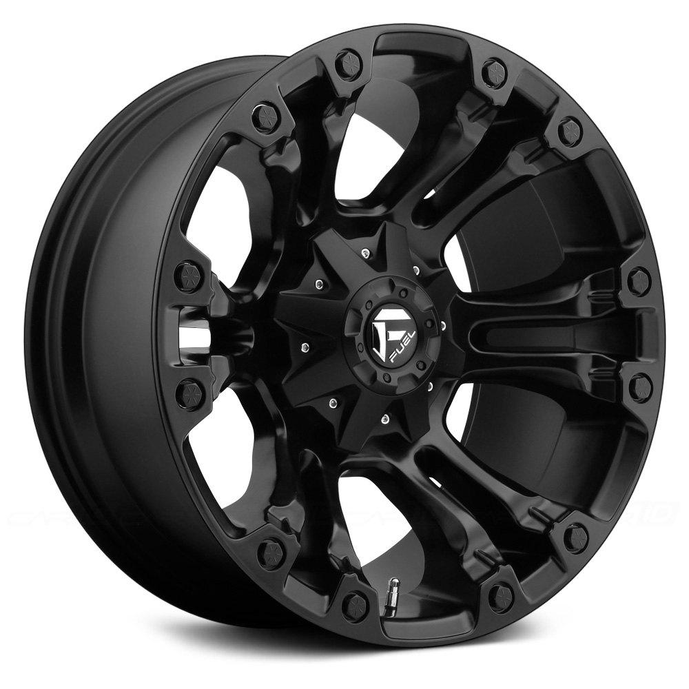 Fuel Rims F150 >> FUEL® D560 VAPOR 1PC Wheels - Matte Black Rims