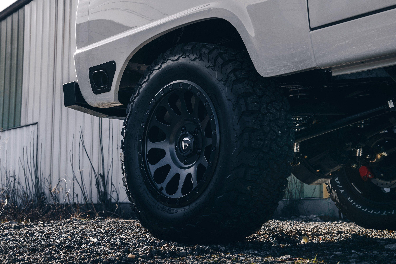 Fuel 174 D579 Vector 1pc Wheels Matte Black Rims
