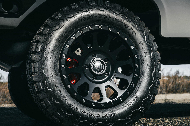 FUEL® D579 VECTOR 1PC Wheels - Matte Black Rims