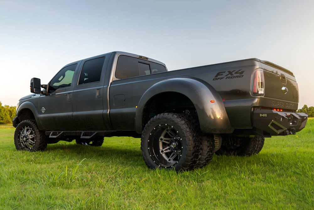 Fuel Dually Wheels >> Fuel D232 Dually Hostage Ii 2pc Gloss Black With Anthracite Center