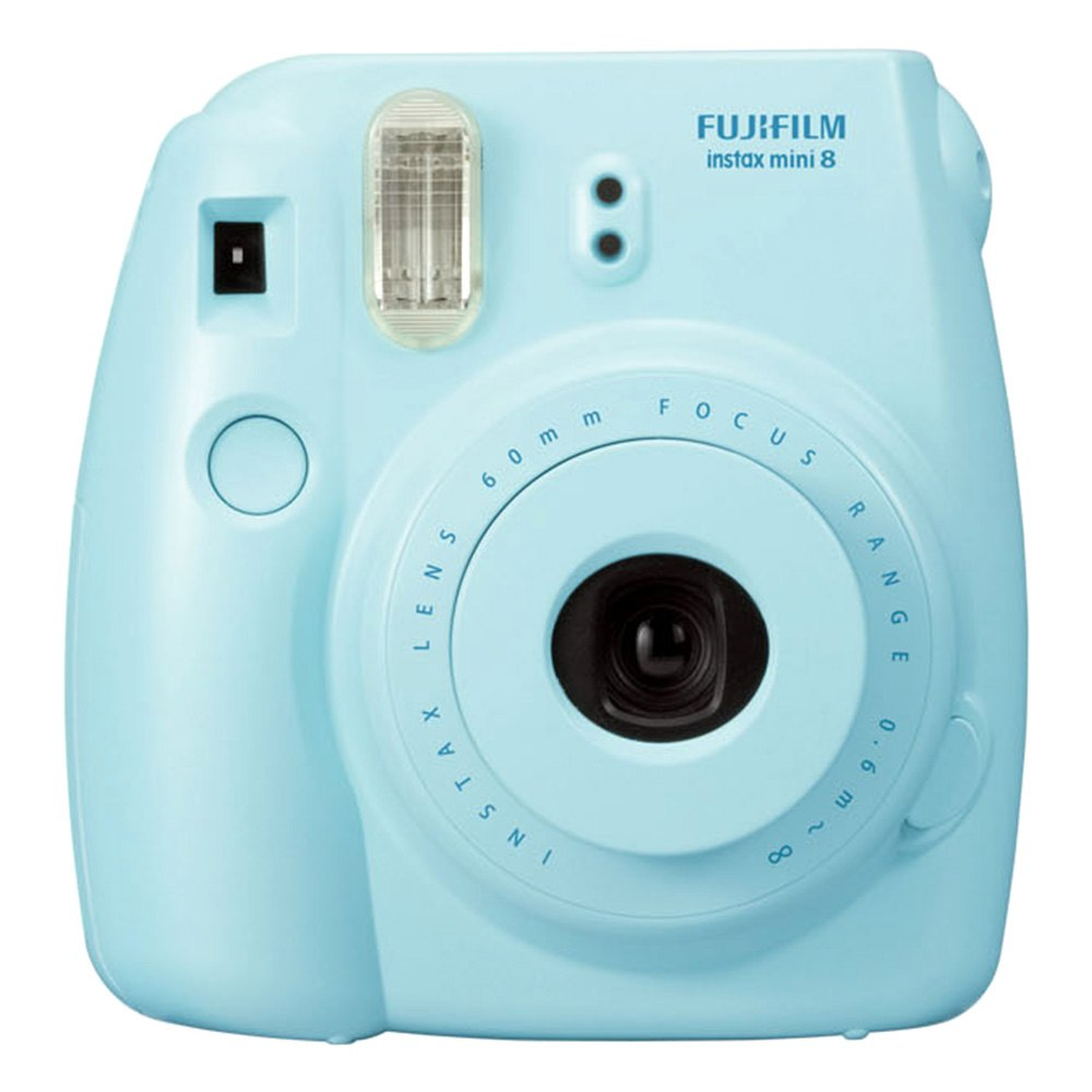 fujifilm mini8blu instax mini 8 camera blue. Black Bedroom Furniture Sets. Home Design Ideas