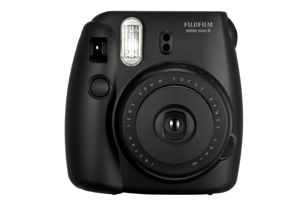 Fujifilm mini8blk instax mini 8 camera black for Instax mini 8 housse