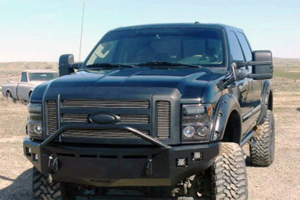 fusion bumpers ford f 250 super duty 2008 full width raw front hd bumper. Black Bedroom Furniture Sets. Home Design Ideas