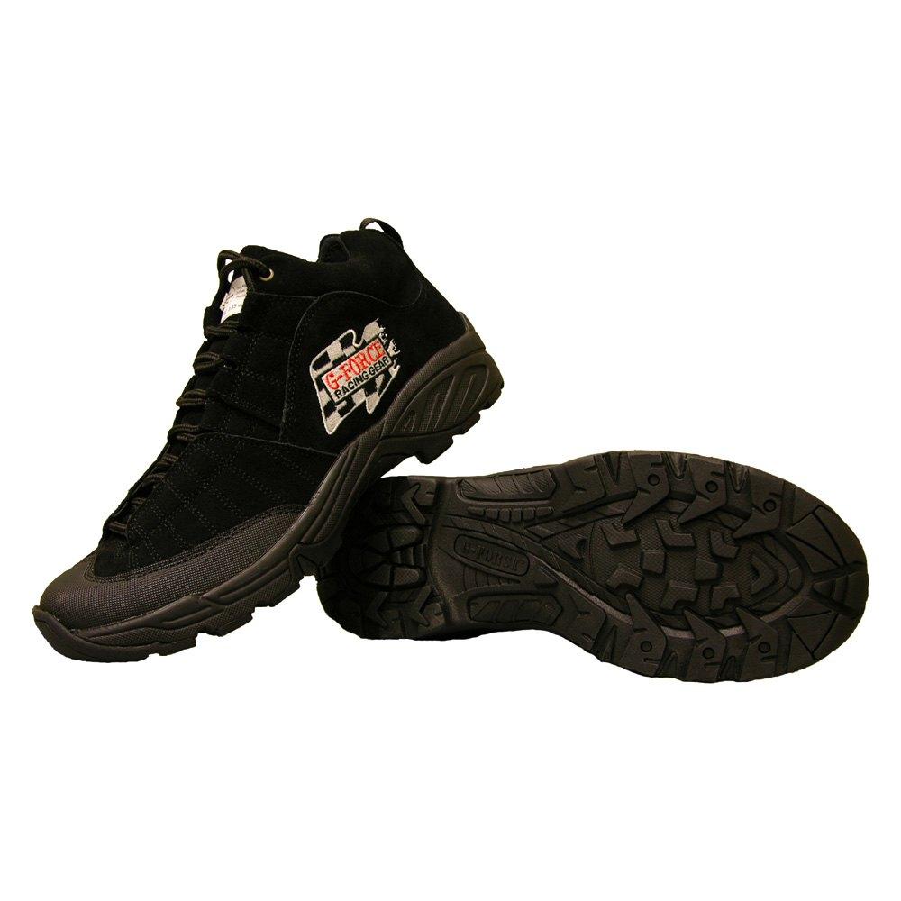 g racing gear 174 4252080bk crew shoes 8 size black