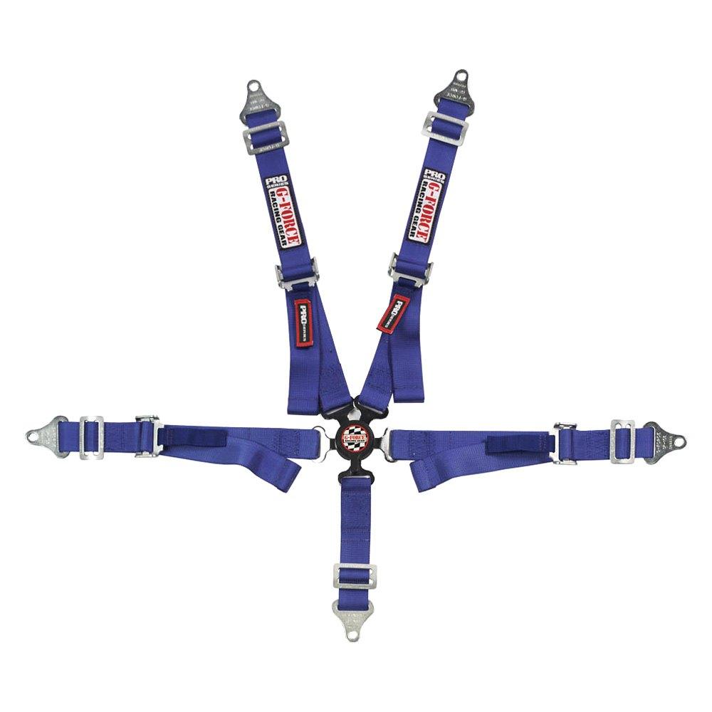 G-Force Racing Gear® 7500BU - 5-Point Camlock Individual Shoulder