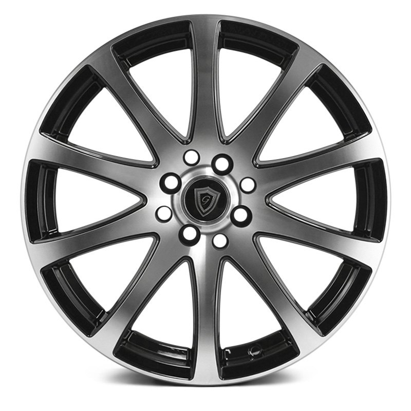 G-Line Alloys G0001 Wheel 17x7.5 (35, 5x114.3, 73.1) Black