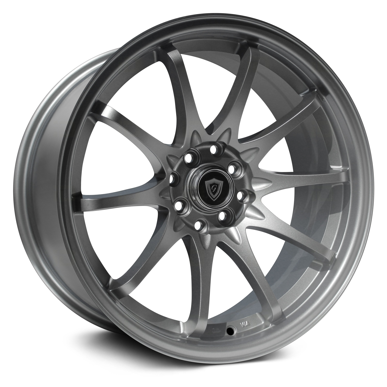 G-Line Alloys G1018 Wheel 17x9 (25, 4x100, 73.1) Gunmetal