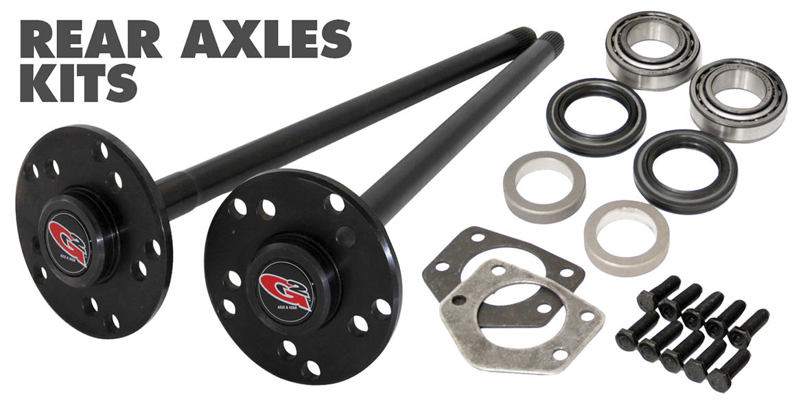 G2 Axle & Gear - Products