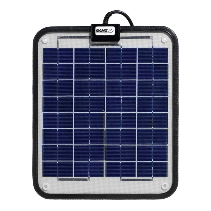 Ganz eco energy gsp 6 6w semi flexible solar panel - Auchan eco energie ...