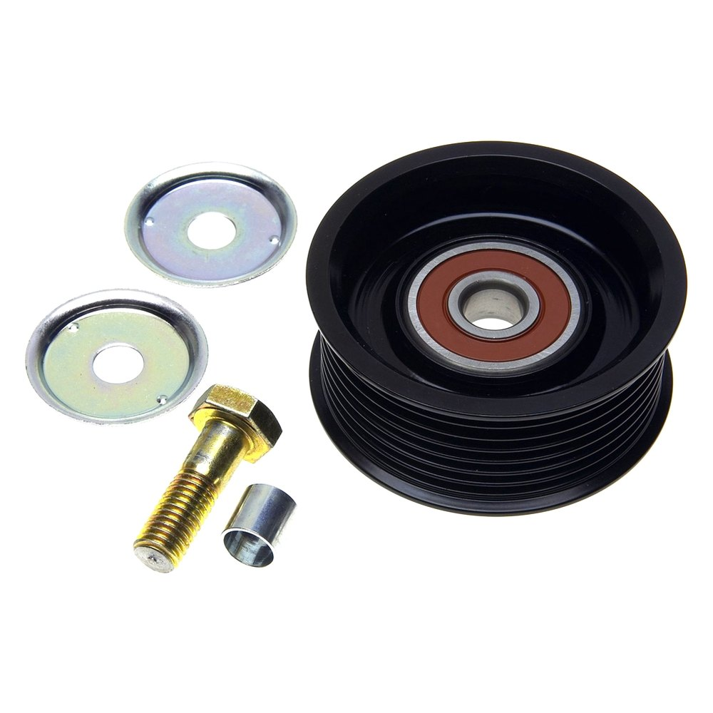 Idler Pulley : Gates? drivealign lower drive belt idler pulley